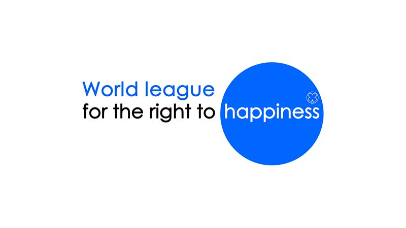 logo world league for the right to happiness